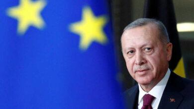 صورة اردوغان رداً على العقوبات الامريكيا