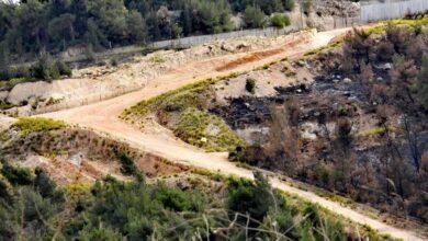صورة اصابات في صفوف الجنود الاسرائيليين قبالة العديسة