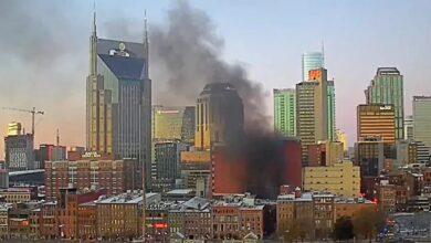 صورة انفجار ناشفيل عمل متعمد !