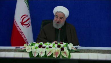 صورة ماذا قال الرئيس روحاني اليوم عن العقوبات الامريكية؟