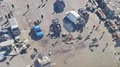 صورة انتحاري في قلب بغداد