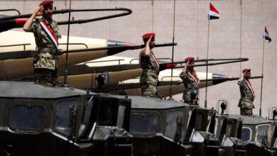 صورة صواريخ يمنية على الرياض