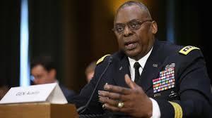 صورة لويد أوستن وزير الدفاع الامريكي الجديد