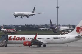 صورة السلطات الاندونيسية تأكد وقوع الطائرة في احدى جزر جاكرتا