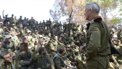 """صورة الجيش """"الإسرائيلي"""" سيحافظ  على مستوى عالٍ من التأهب جنوب """"إسرائيل"""""""