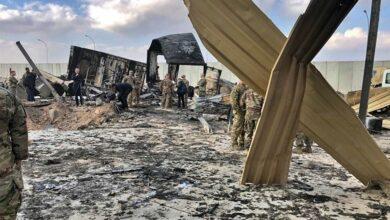 صورة العراق | استهداف الجناح الأمريكي من قاعدة عين الأسد بـ10 صواريخ وأنباء عن إصابات