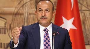 صورة وزير الخارجية التركي يعلن تأجيل مؤتمر إسطنبول حول السلام