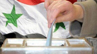 صورة انتخابات سورية في اليابان