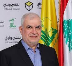 صورة النائب محمد رعد خلال جلسة مناقشة رسالة رئيس الجمهورية في مجلس النواب