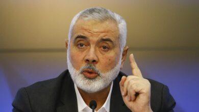 صورة ماذا قال رئيس المكتب السياسي لحركة #حماس اسماعيل هنية