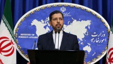 """صورة المتحدث باسم الخارجية الايرانية يصف مزاعم الرئيس الاذربيجاني بأنها """"كاذبة ومفبركة"""""""