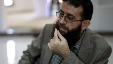 """صورة قيادي في الجهاد الإسلامي يؤكد أن """"كافة أسرى حركة الجهاد الاسلامي سيضربون عن الطعام الخميس المقبل"""""""