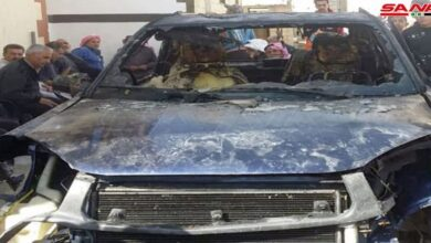 صورة المحاولة الرابعة لاغتيال عضو لجنة المصالحة في القنيطرة لم تنجح!