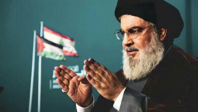 """صورة السيد نصرالله لرئيس حزب القوات:"""" في حسابات الإقليم والمنطقة انت غلطان 100 %"""""""